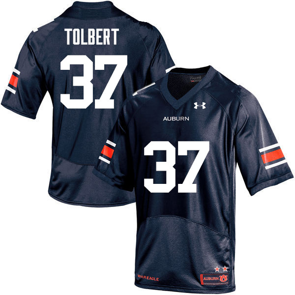 Men Auburn Tigers #48 C.J. Tolbert College Football Jerseys Sale-Navy