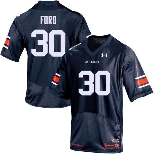 Men Auburn Tigers #30 Dee Ford College Football Jerseys Sale-Navy